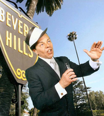 Frank Sinatra Look-a-Like in Beverly Hills